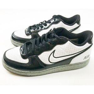 Nike Men's Shoes Air Athletic Sz 9.5 Black White